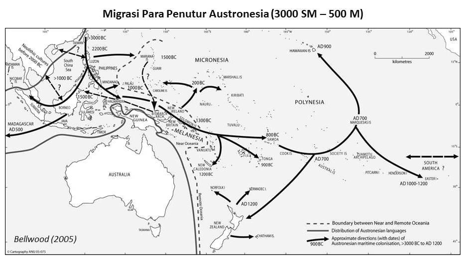 Melacak Jejak Asal Migrasi Nenek Moyang Bangsa Indonesia Arief Online